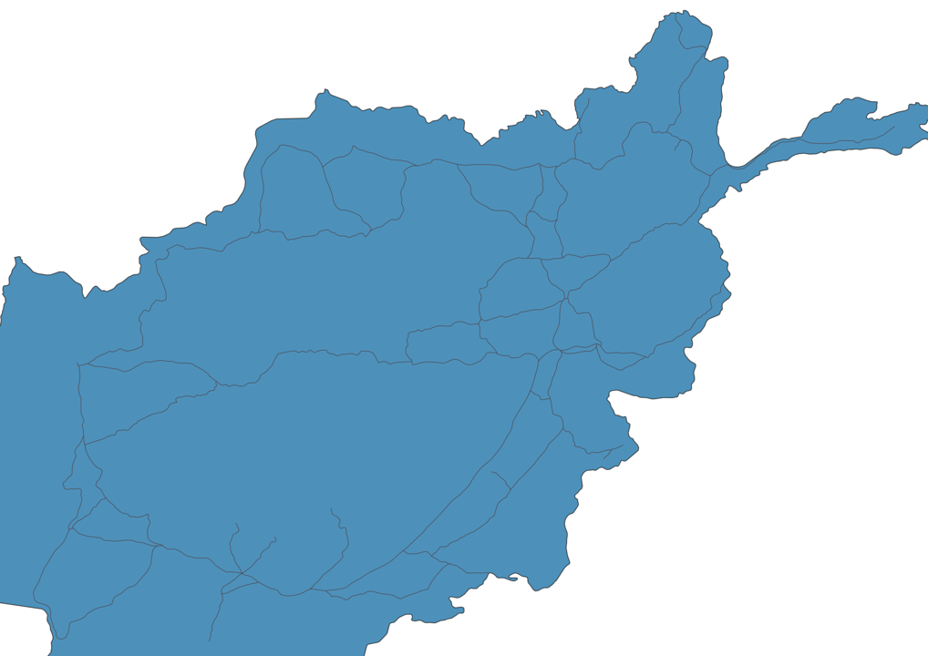 Map of Roads in Afghanistan