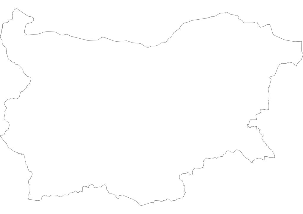 Bulgaria Outline Map
