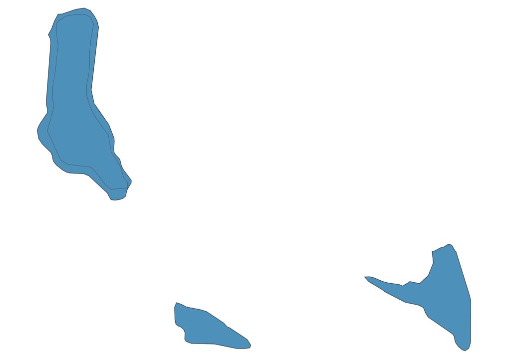 Map of Roads in Comoros