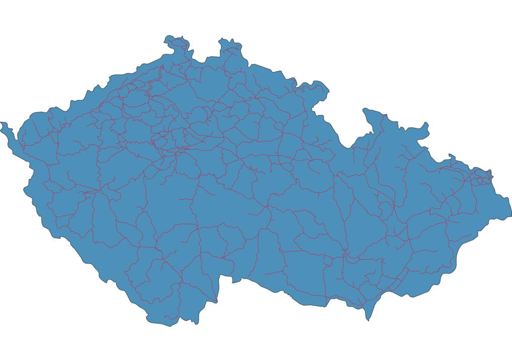 Czech Republic Railway Map