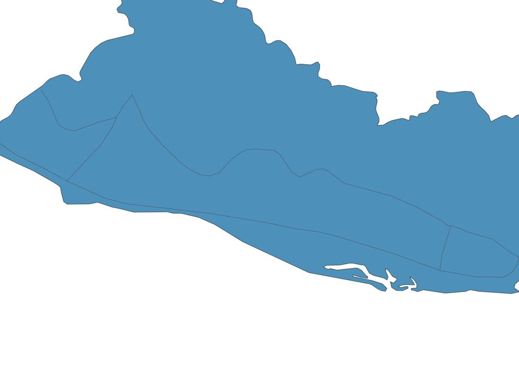 Map of Roads in El Salvador