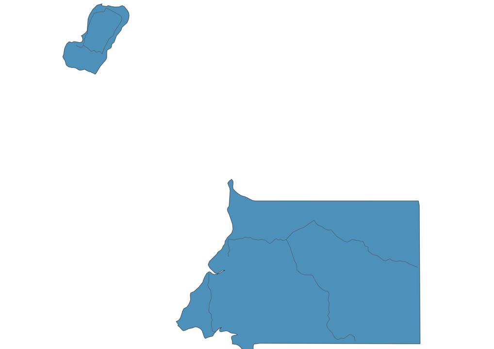 Map of Roads in Equatorial Guinea