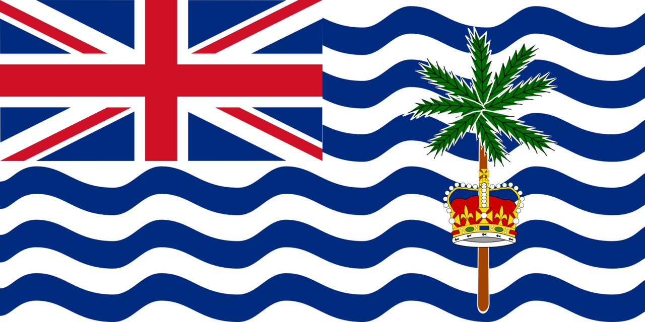 British Indian Ocean Territory flag icon