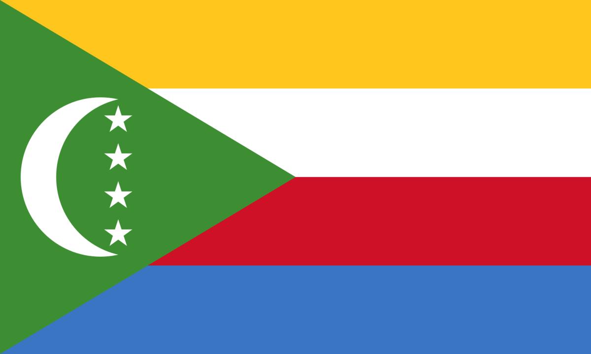 Comoros flag icon