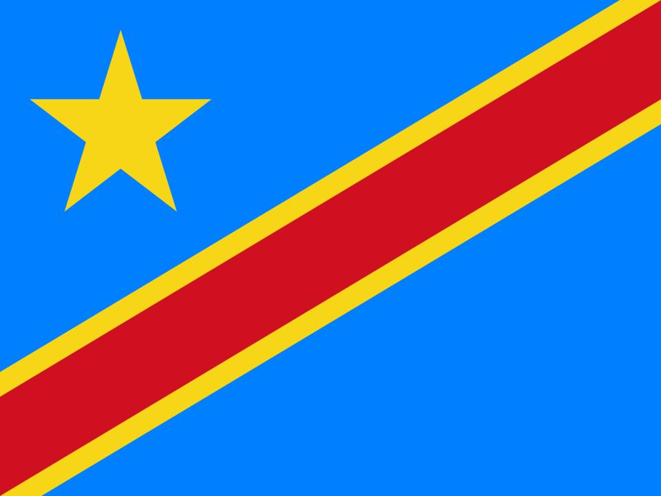 Democratic Republic of the Congo flag icon