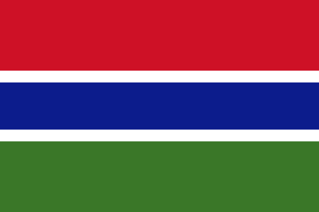 Gambia flag icon