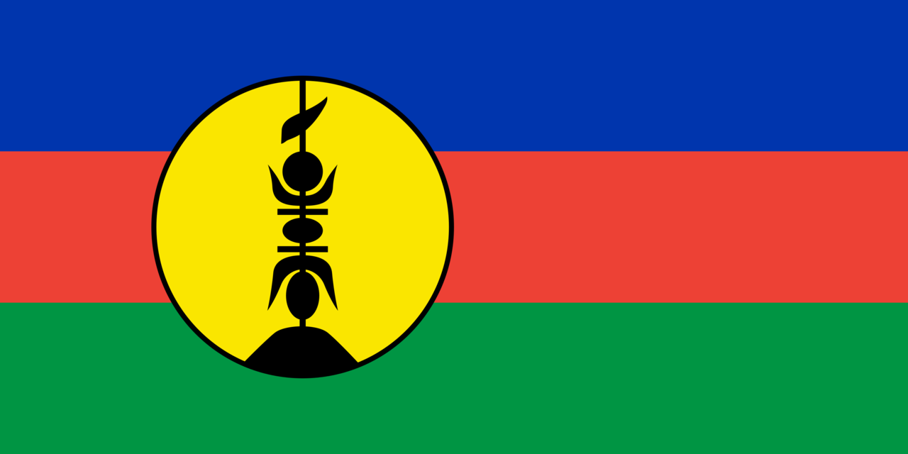 New Caledonia flag icon