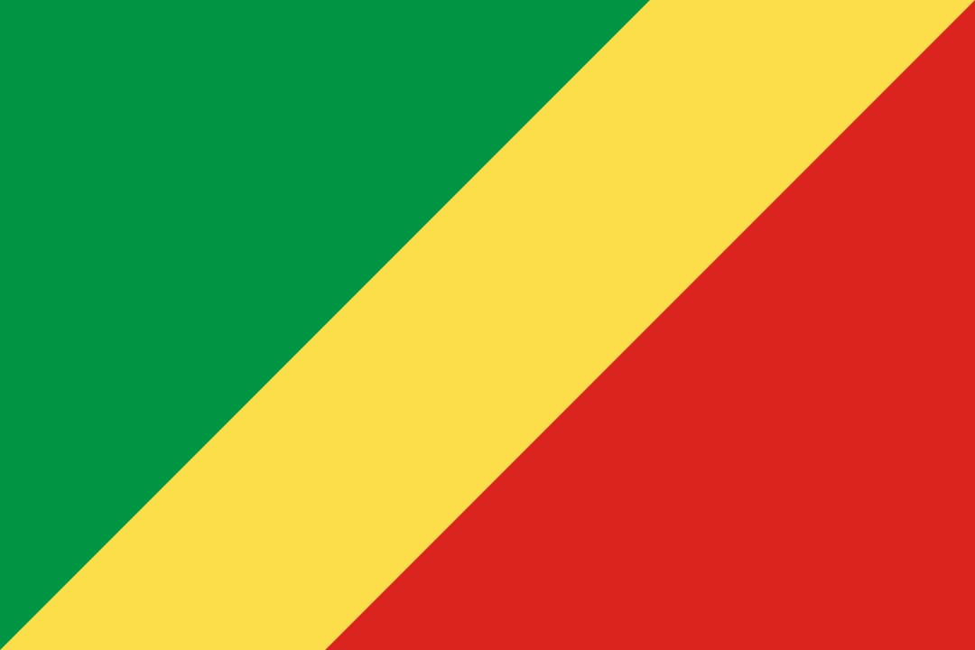 Republic of the Congo flag icon