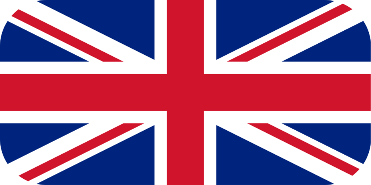 United Kingdom flag with rounded corners