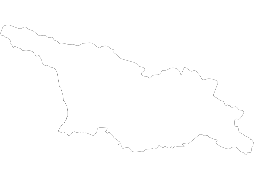 Georgia Outline Map
