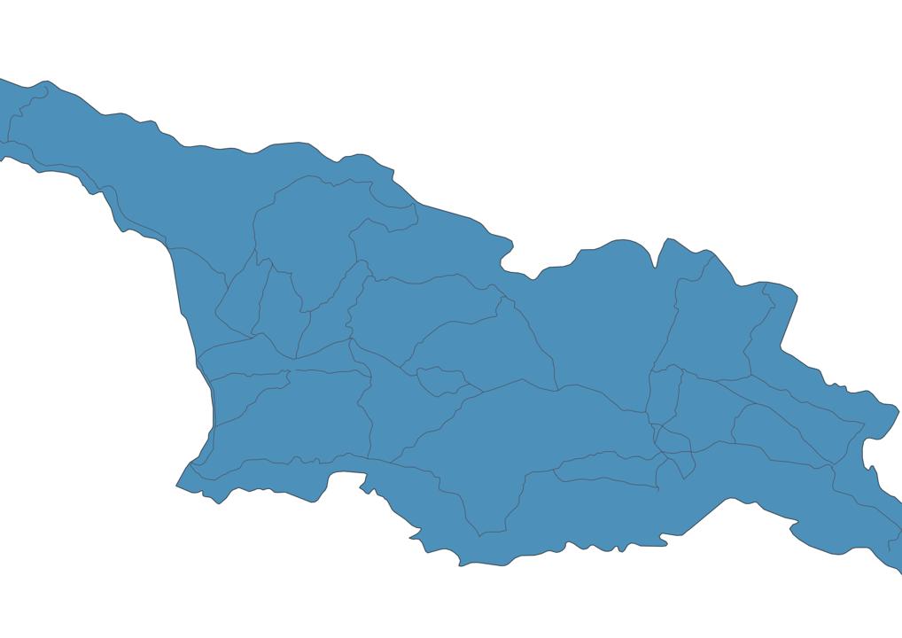 Map of Roads in Georgia