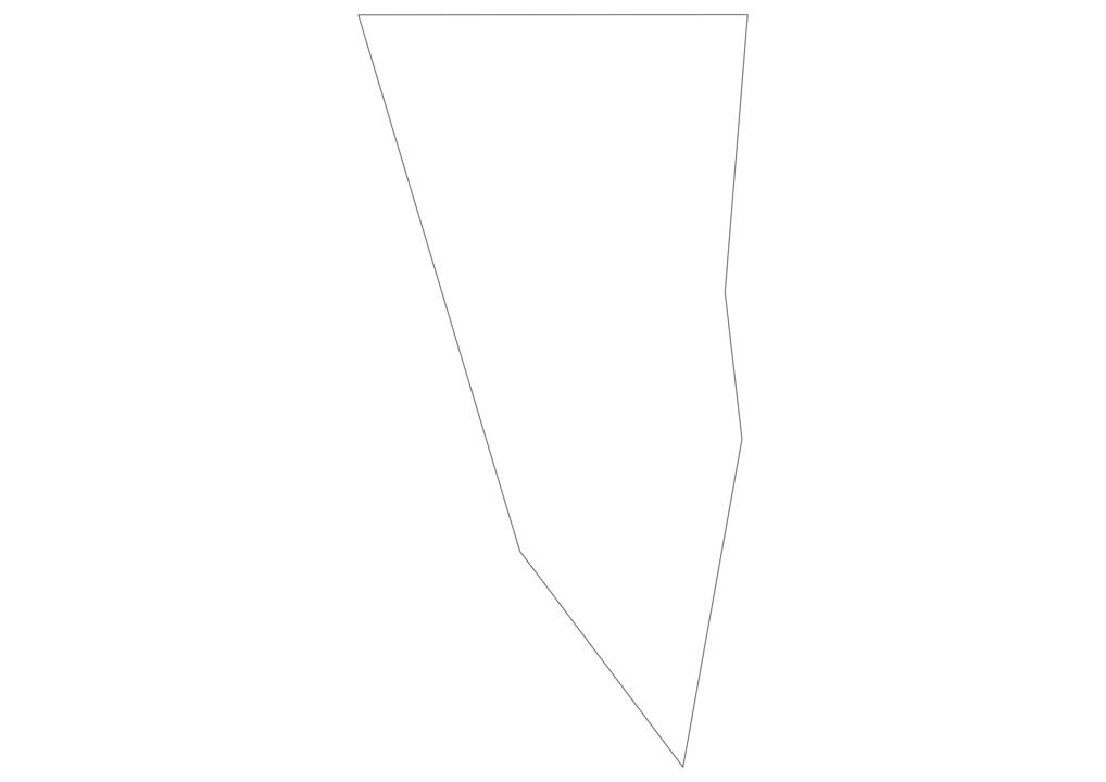 Gibraltar Outline Map