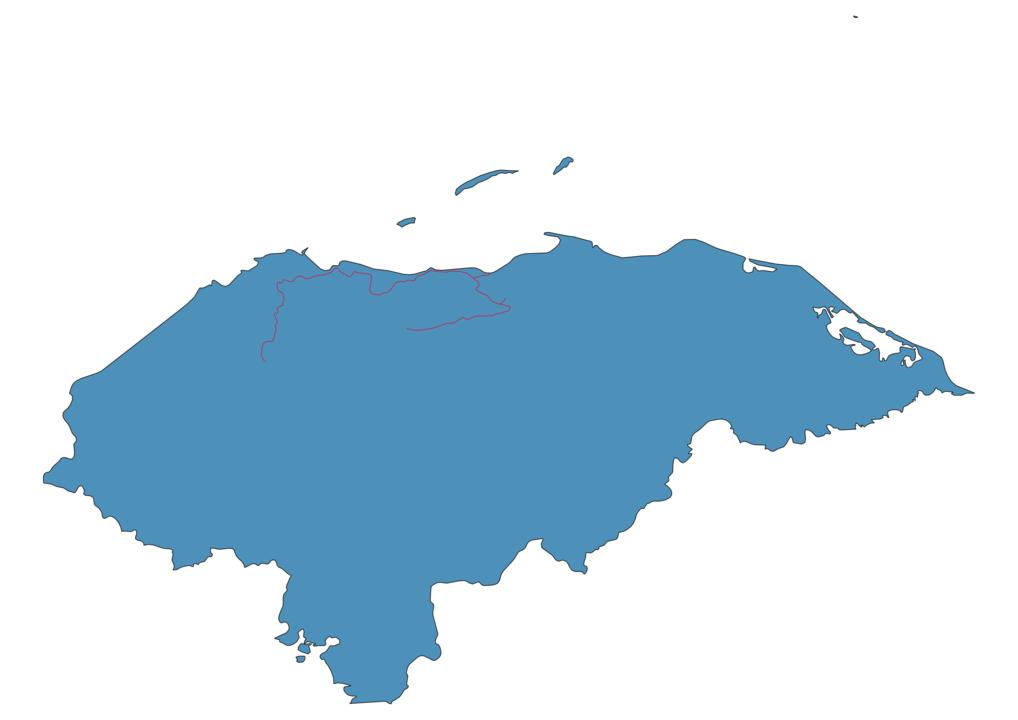 Honduras Railway Map