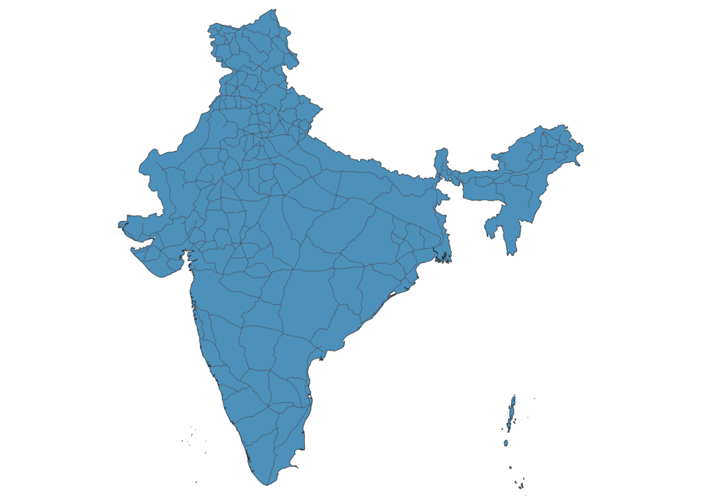 Map of Roads in India