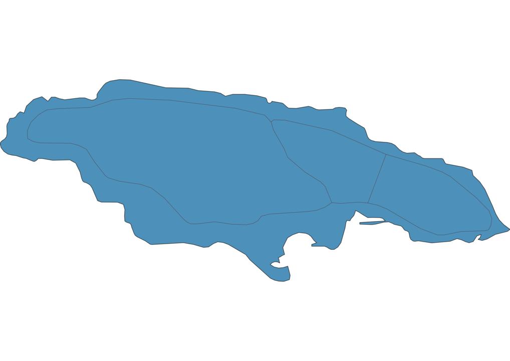 Map of Roads in Jamaica