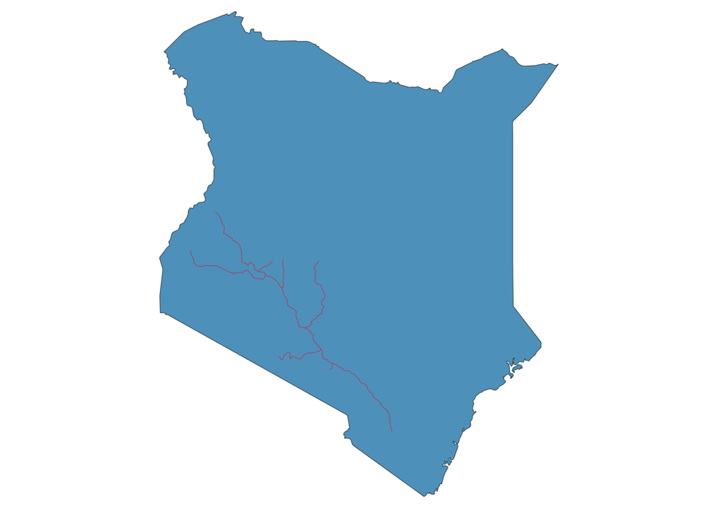 Kenya Railway Map
