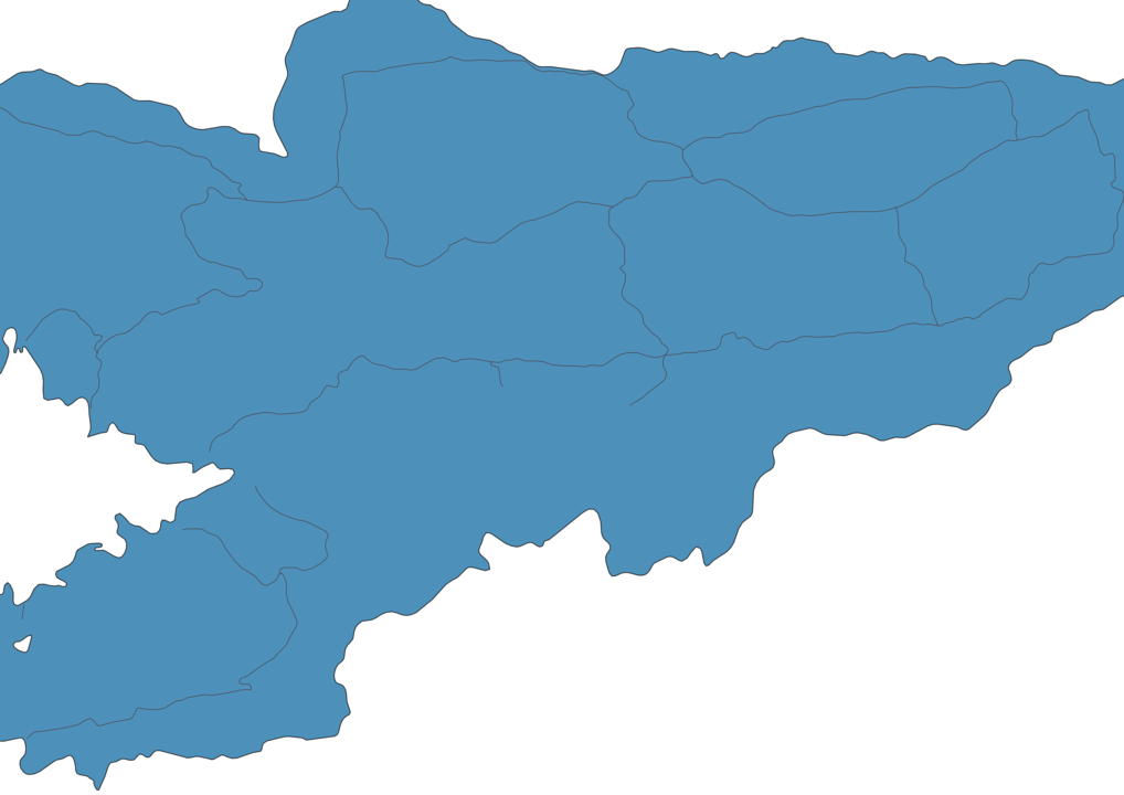 Map of Roads in Kyrgyzstan