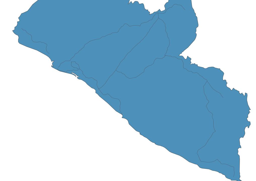 Map of Roads in Liberia