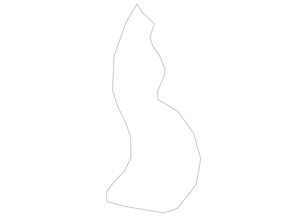 Liechtenstein Outline Map
