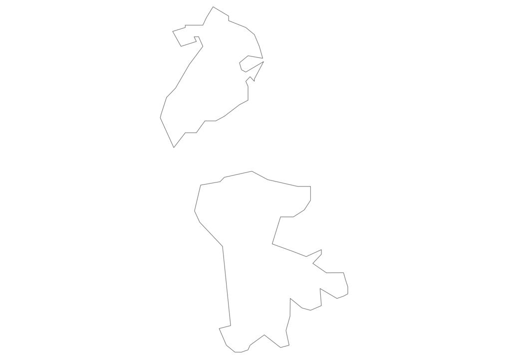 Macau Outline Map