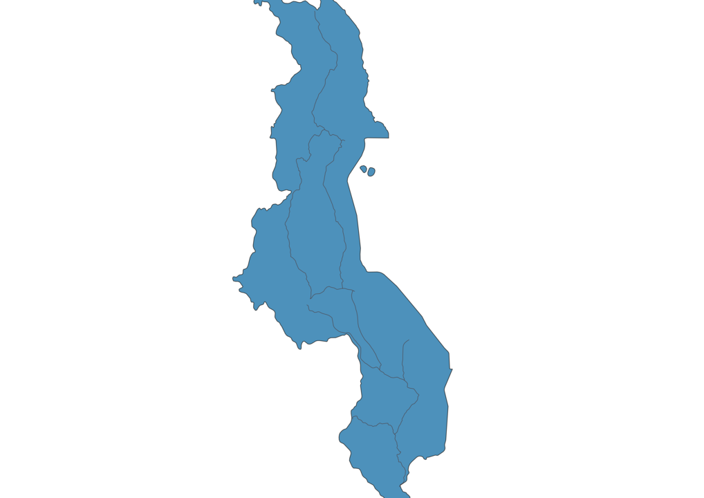 Map of Roads in Malawi