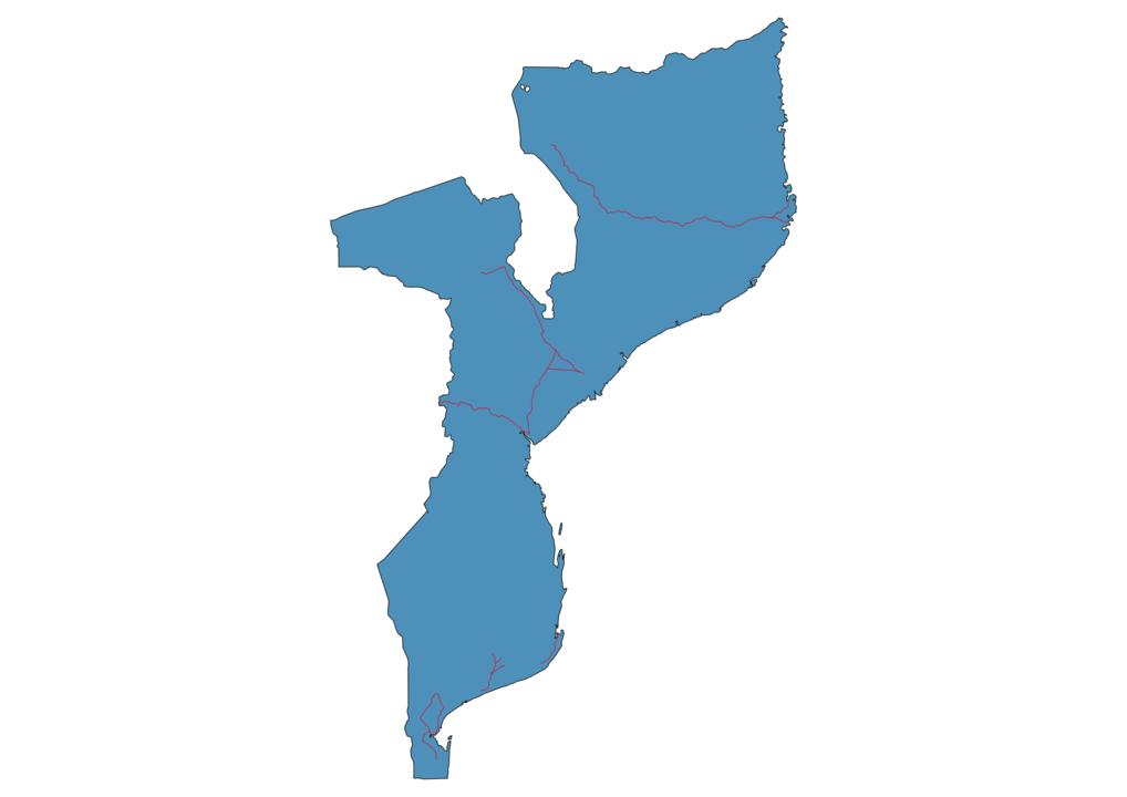 Mozambique Railway Map