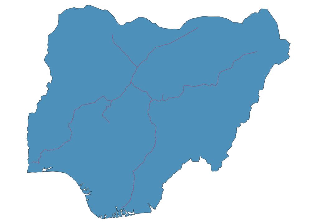 Nigeria Railway Map