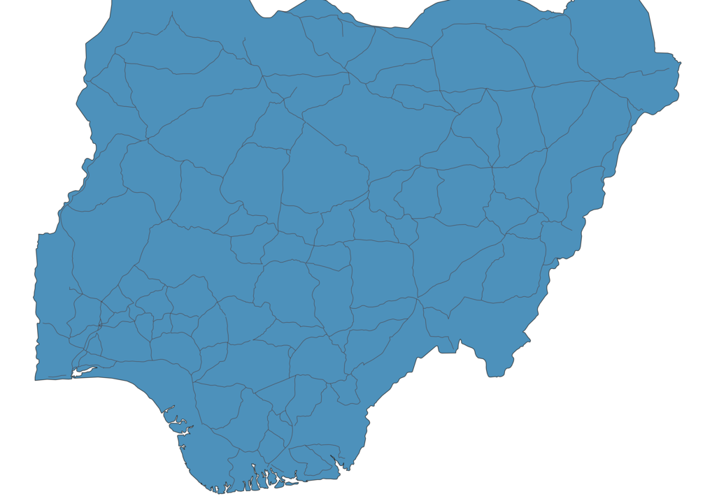 Map of Roads in Nigeria