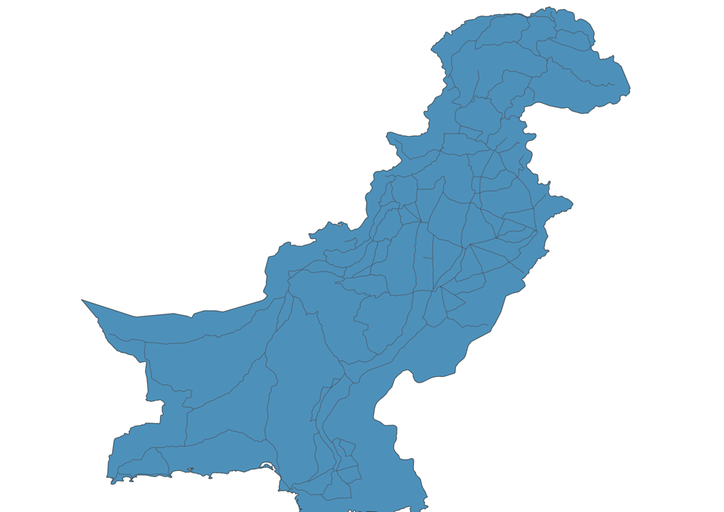 Map of Roads in Pakistan