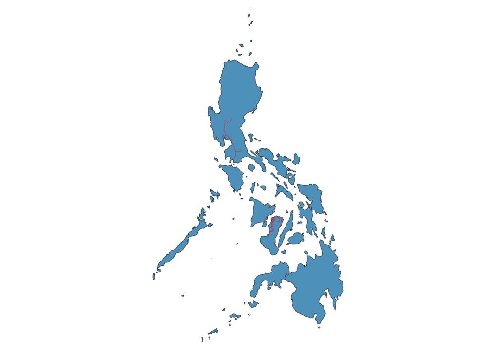 Philippines Railway Map