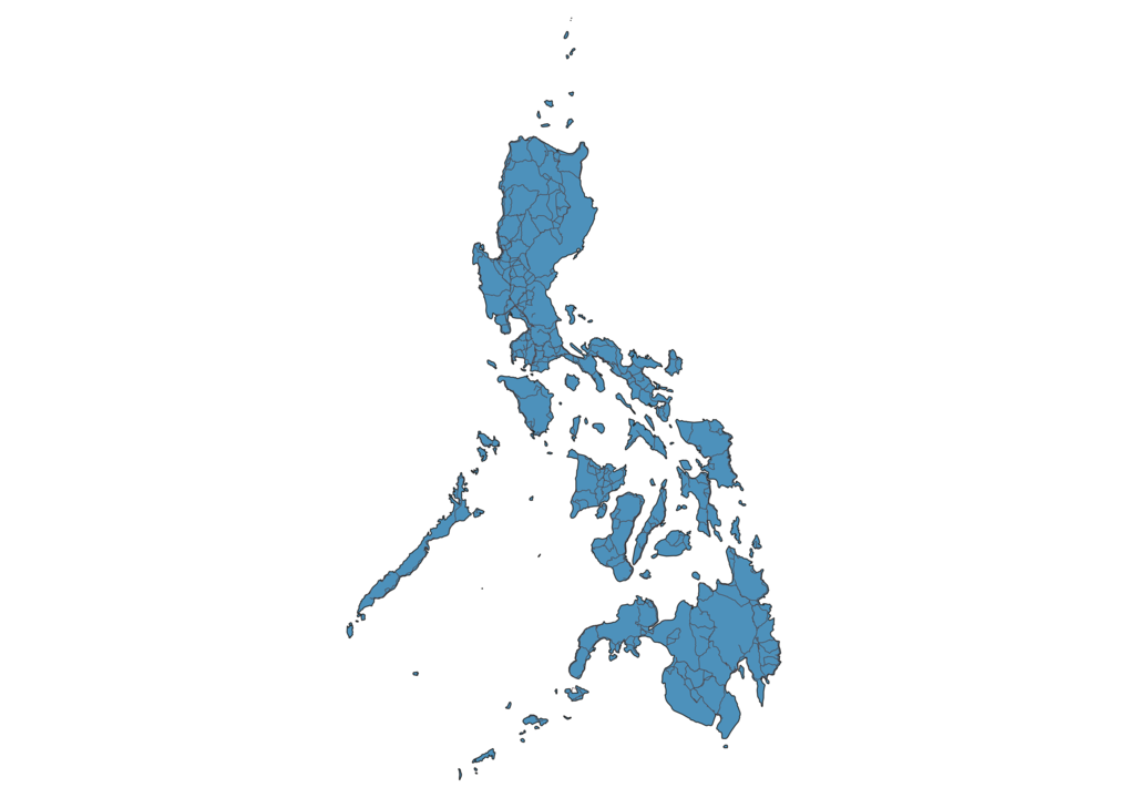Map of Roads in Philippines