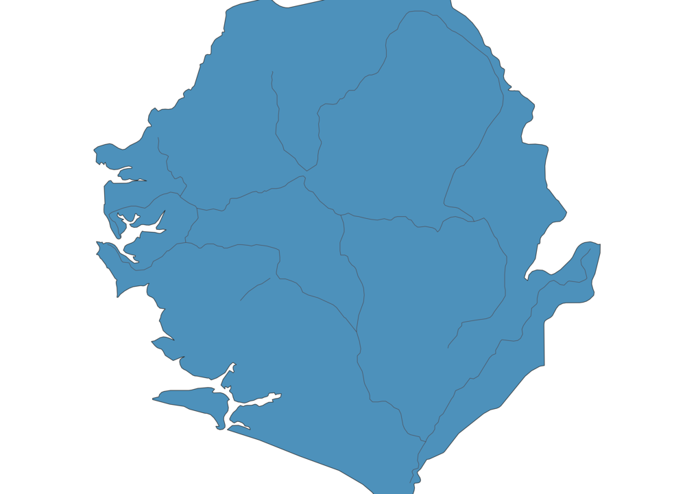 Map of Roads in Sierra Leone