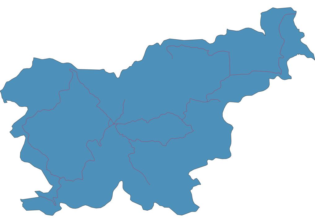 Slovenia Railway Map