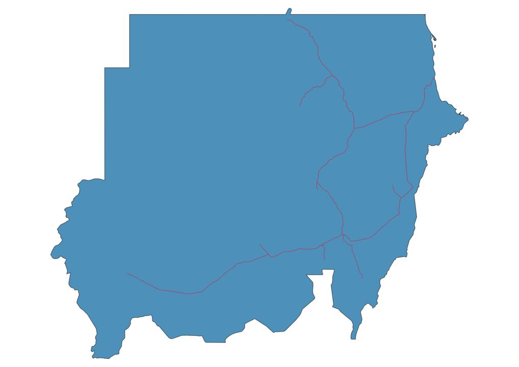 Sudan Railway Map