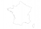 Blank map of France thumbnail
