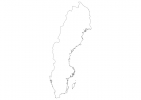 Blank map of Sweden thumbnail