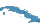 Map of Cuba With Cities thumbnail