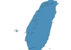 Map of Taiwan With Cities thumbnail