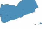Map of Yemen With Cities thumbnail