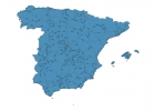 Road map of Spain thumbnail