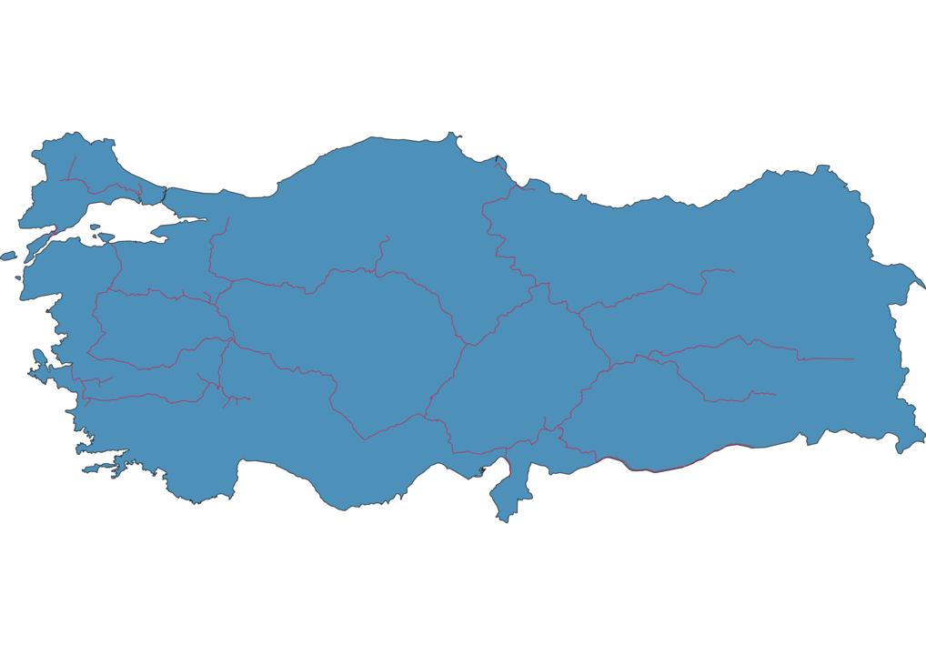 Turkey Railway Map