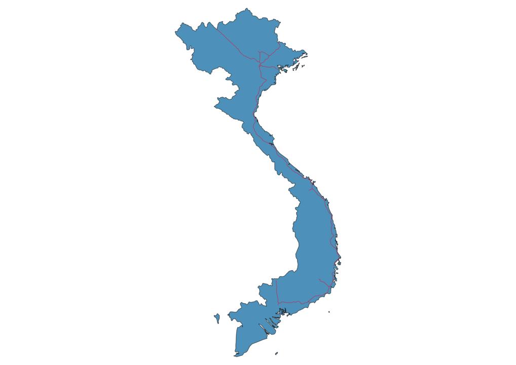 Vietnam Railway Map