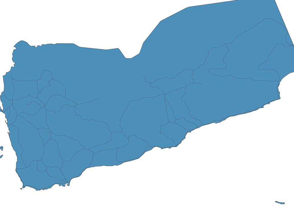 Map of Roads in Yemen